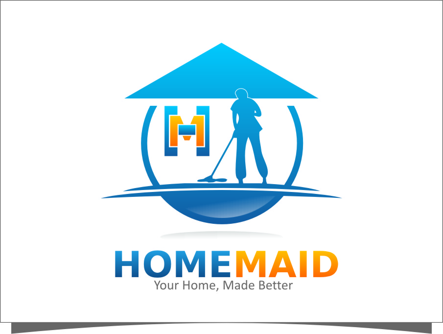 Logo Design by Ngepet_art - Entry No. 50 in the Logo Design Contest Unique Logo Design Wanted for HomeMaid.