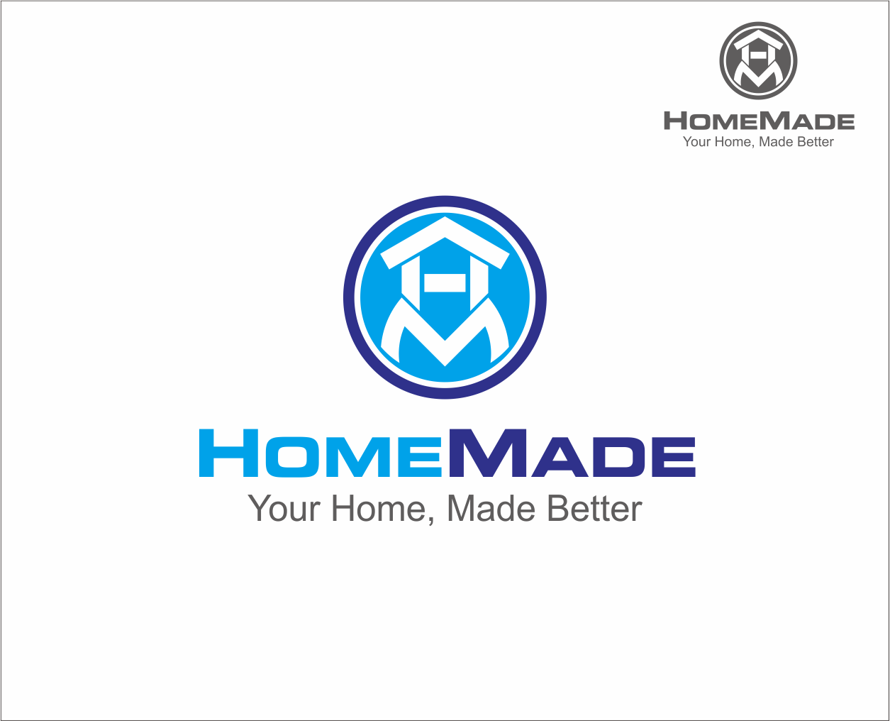 Logo Design by Armada Jamaluddin - Entry No. 51 in the Logo Design Contest Unique Logo Design Wanted for HomeMaid.