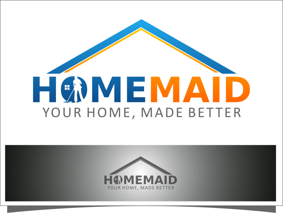 Logo Design by RasYa Muhammad Athaya - Entry No. 52 in the Logo Design Contest Unique Logo Design Wanted for HomeMaid.