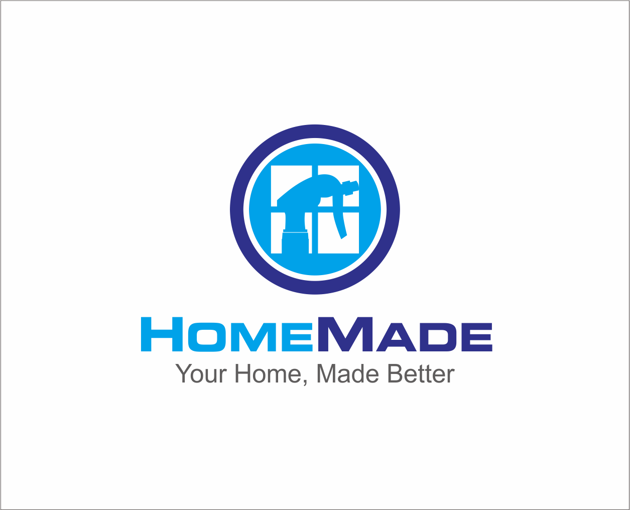 Logo Design by Armada Jamaluddin - Entry No. 54 in the Logo Design Contest Unique Logo Design Wanted for HomeMaid.