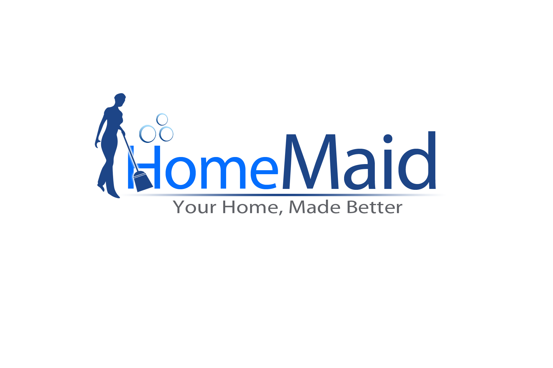 Logo Design by golden-hand - Entry No. 58 in the Logo Design Contest Unique Logo Design Wanted for HomeMaid.