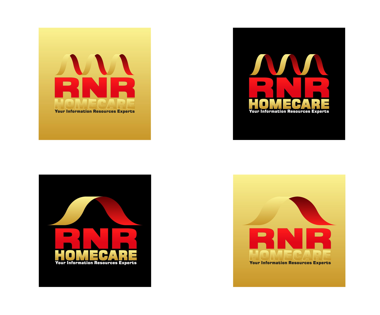 Logo Design by 3draw - Entry No. 75 in the Logo Design Contest Imaginative Logo Design for RNR HomeCare.