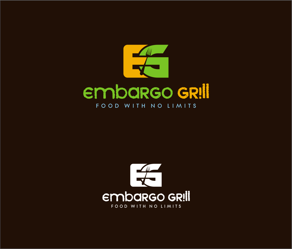 Logo Design by haidu - Entry No. 25 in the Logo Design Contest Captivating Logo Design for Embargo Grill.