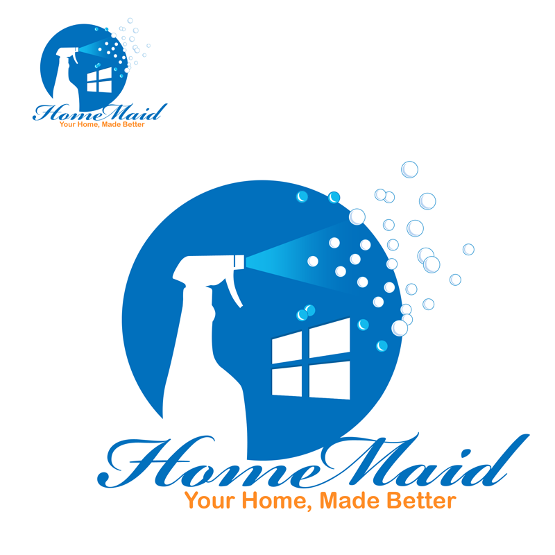 Logo Design by Private User - Entry No. 63 in the Logo Design Contest Unique Logo Design Wanted for HomeMaid.