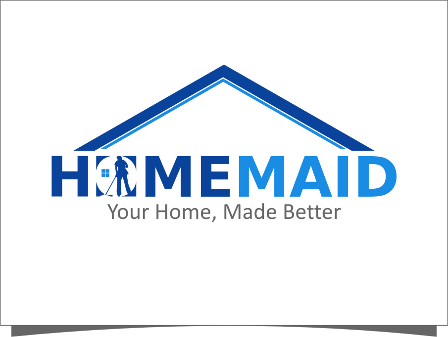 Logo Design by RasYa Muhammad Athaya - Entry No. 65 in the Logo Design Contest Unique Logo Design Wanted for HomeMaid.
