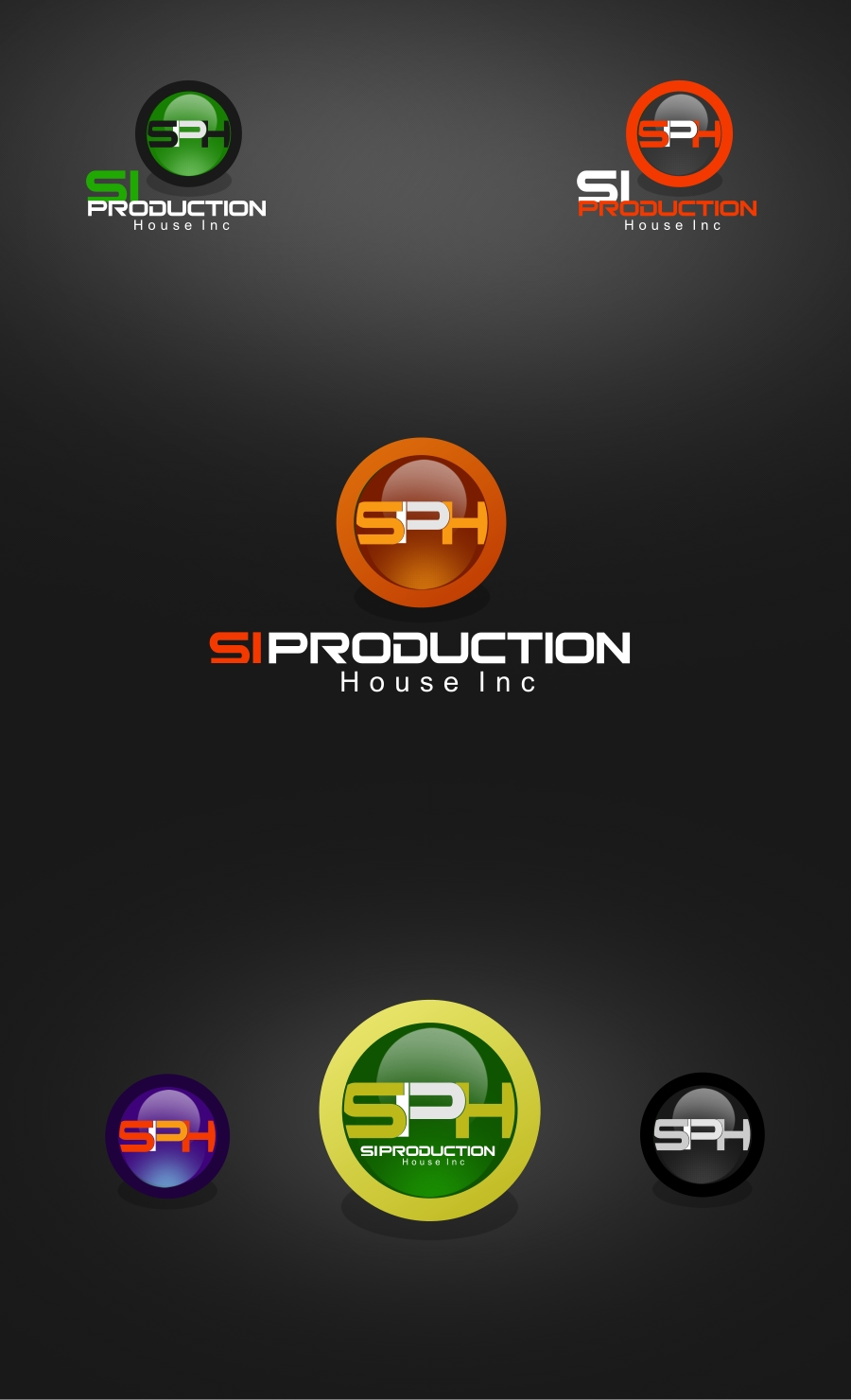 Logo Design by Private User - Entry No. 76 in the Logo Design Contest Si Production House Inc Logo Design.