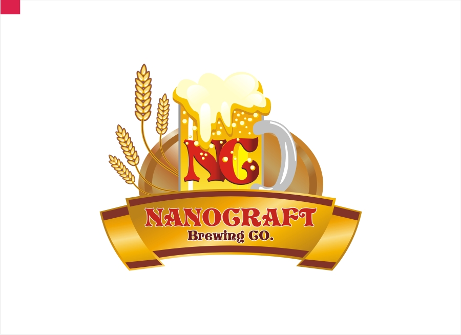Logo Design by Private User - Entry No. 47 in the Logo Design Contest Unique Logo Design Wanted for NanoCraft Brewing Company.