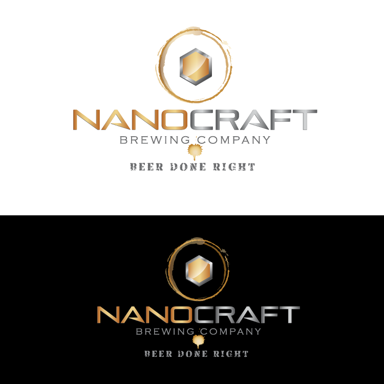 Logo Design by vwArt - Entry No. 81 in the Logo Design Contest Unique Logo Design Wanted for NanoCraft Brewing Company.