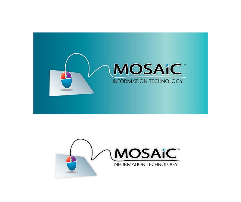 Logo Design by kowreck - Entry No. 43 in the Logo Design Contest Mosaic Information Technology Logo Design.