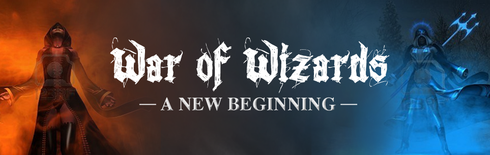 Banner Ad Design by Wade Dupey - Entry No. 61 in the Banner Ad Design Contest Banner Ad Design - War of Wizards (fantasy game).