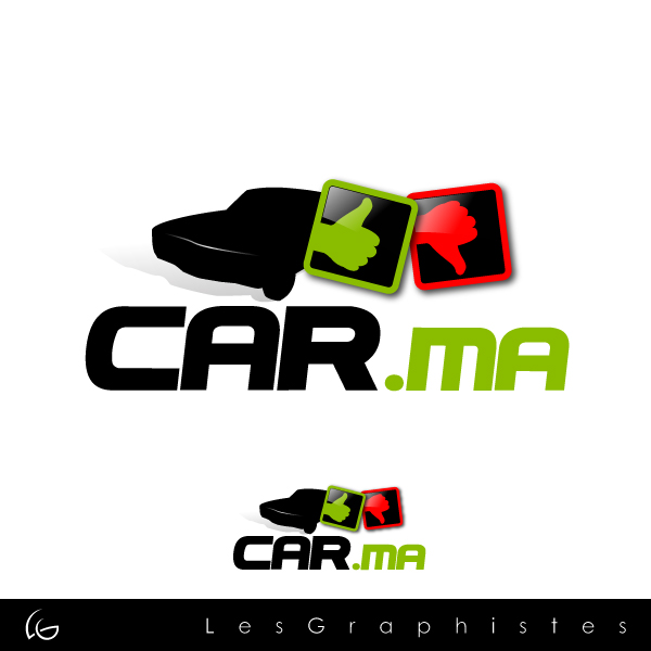 Logo Design by Les-Graphistes - Entry No. 65 in the Logo Design Contest New Logo Design for car.ma.