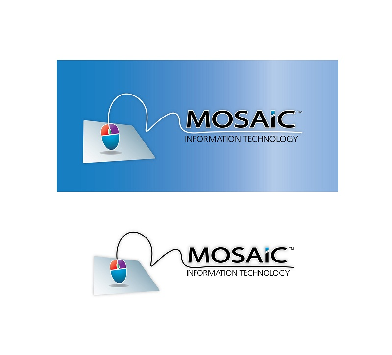 Logo Design by kowreck - Entry No. 44 in the Logo Design Contest Mosaic Information Technology Logo Design.
