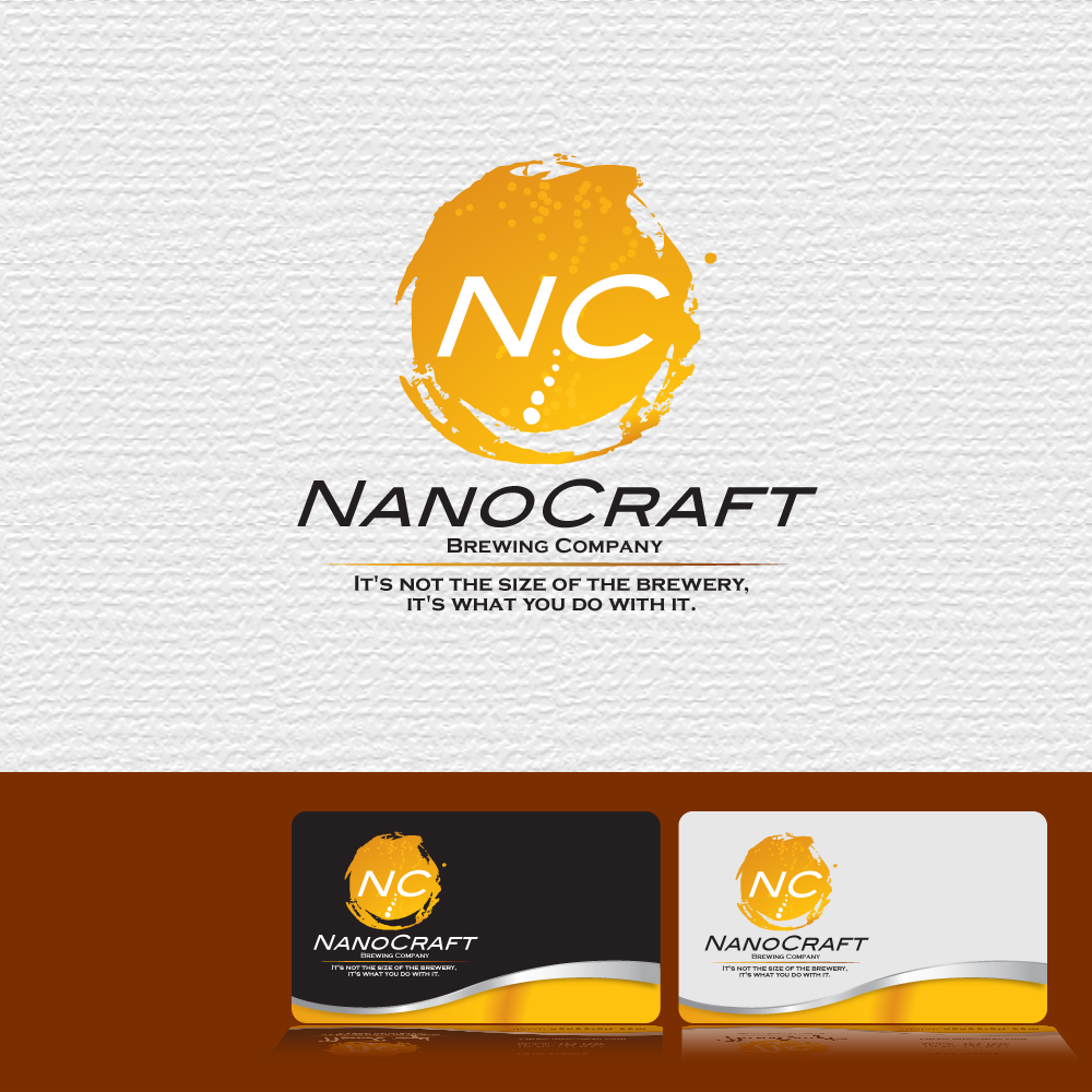 Logo Design by storm - Entry No. 61 in the Logo Design Contest Unique Logo Design Wanted for NanoCraft Brewing Company.