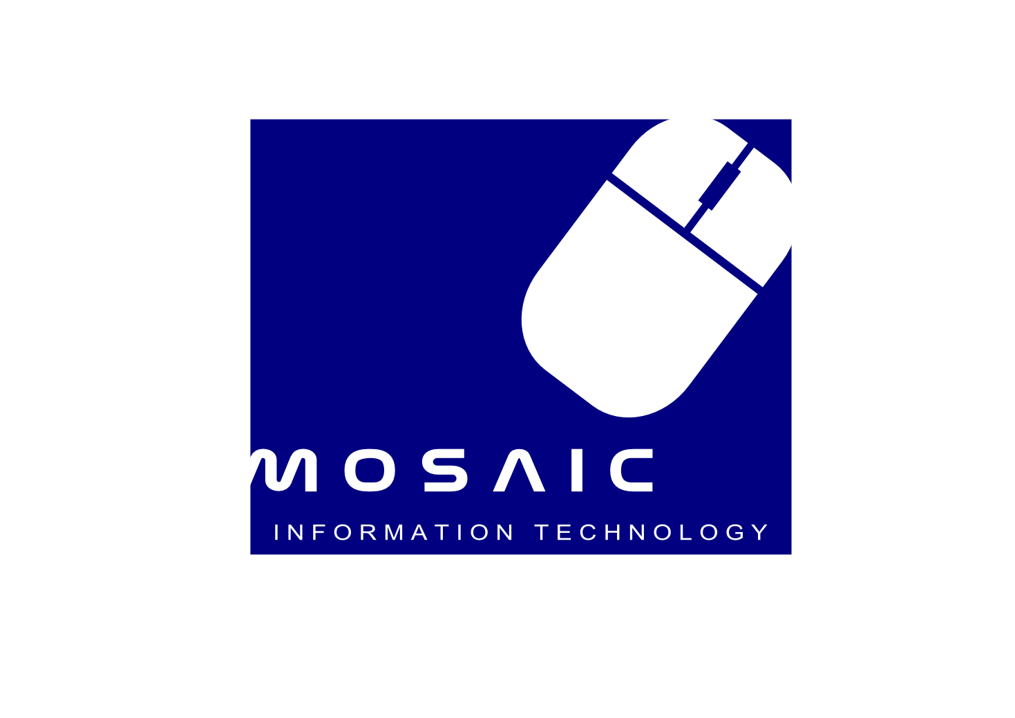 Logo Design by whoosef - Entry No. 45 in the Logo Design Contest Mosaic Information Technology Logo Design.