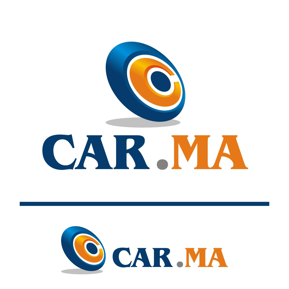 Logo Design by arteo_design - Entry No. 178 in the Logo Design Contest New Logo Design for car.ma.
