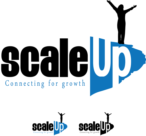 Logo Design by Lefky - Entry No. 11 in the Logo Design Contest Logo Design for scaleUp a consulting & event management company.