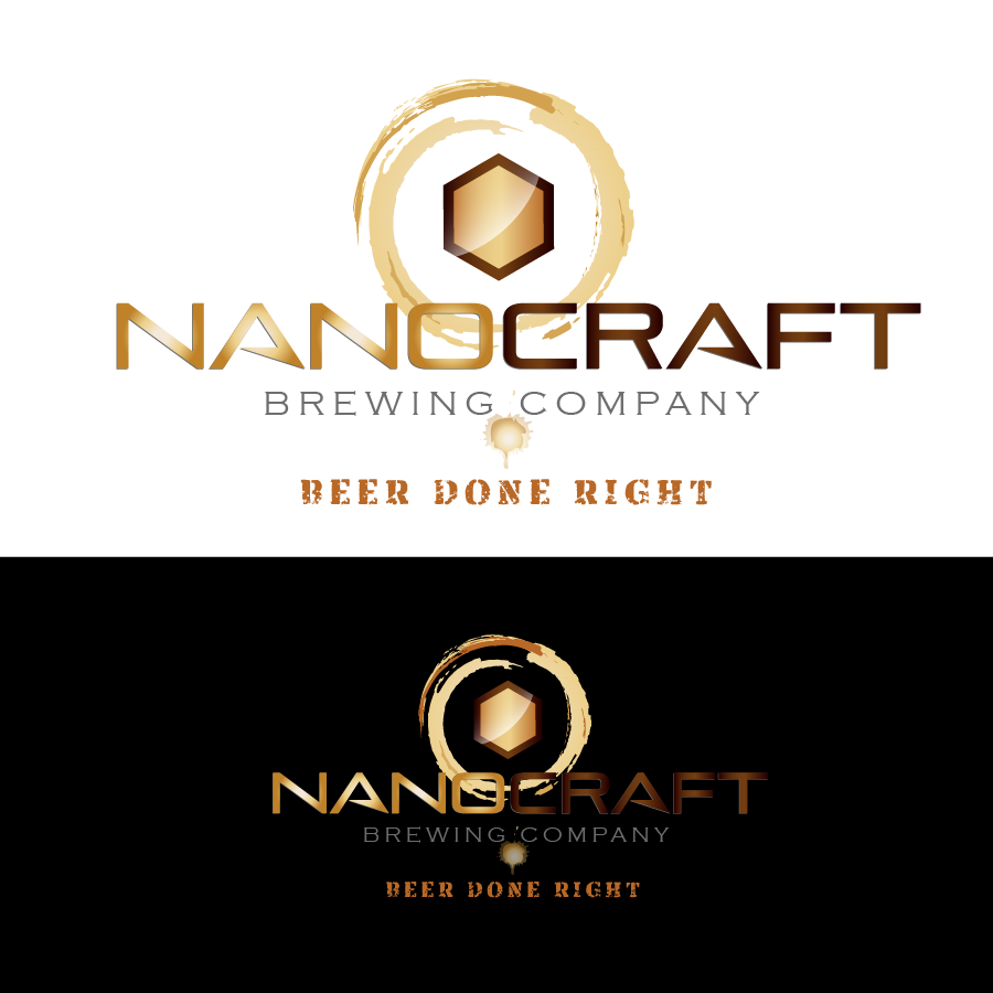 Logo Design by vwArt - Entry No. 78 in the Logo Design Contest Unique Logo Design Wanted for NanoCraft Brewing Company.