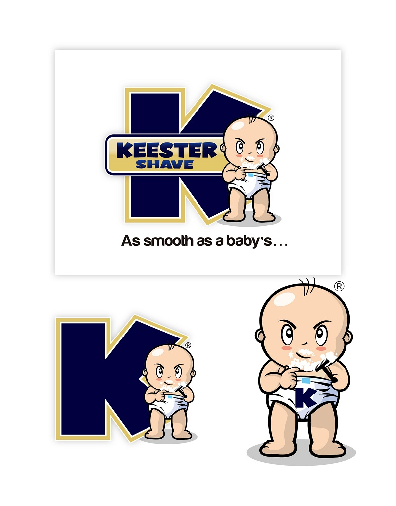 Logo Design by kowreck - Entry No. 19 in the Logo Design Contest Logo Design Needed for Exciting New Company Keester Shave.