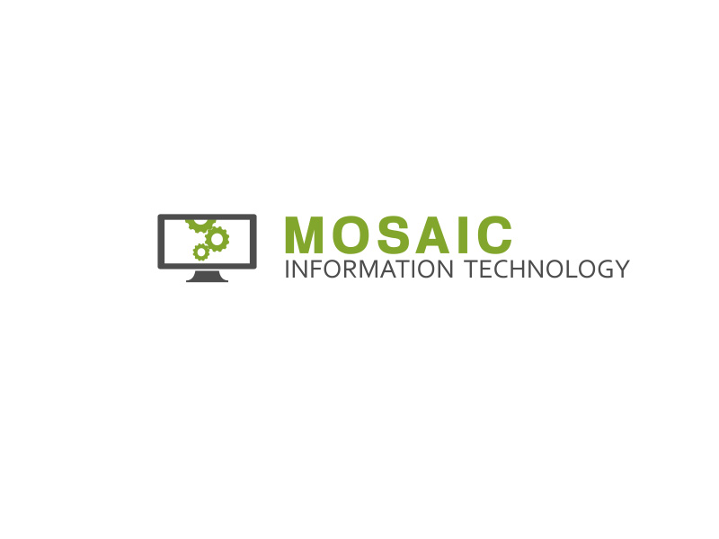 Logo Design by ddamian_dd - Entry No. 19 in the Logo Design Contest Mosaic Information Technology Logo Design.