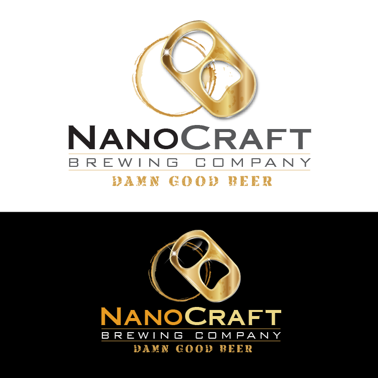 Logo Design by vwArt - Entry No. 83 in the Logo Design Contest Unique Logo Design Wanted for NanoCraft Brewing Company.