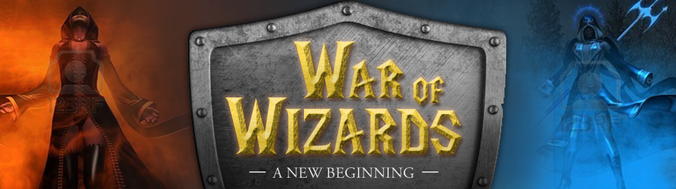 Banner Ad Design by Wade Dupey - Entry No. 65 in the Banner Ad Design Contest Banner Ad Design - War of Wizards (fantasy game).
