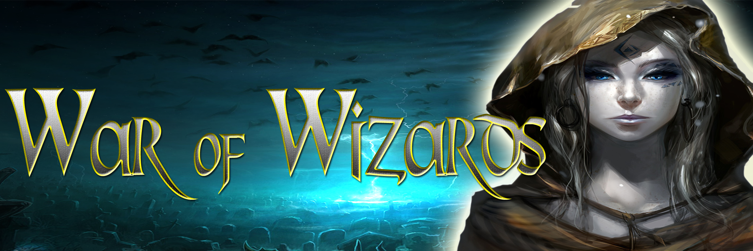 Banner Ad Design by Lara Puno - Entry No. 37 in the Banner Ad Design Contest Banner Ad Design - War of Wizards (fantasy game).