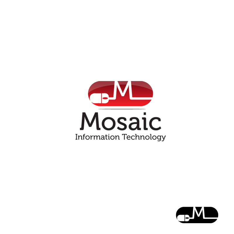 Logo Design by storm - Entry No. 40 in the Logo Design Contest Mosaic Information Technology Logo Design.