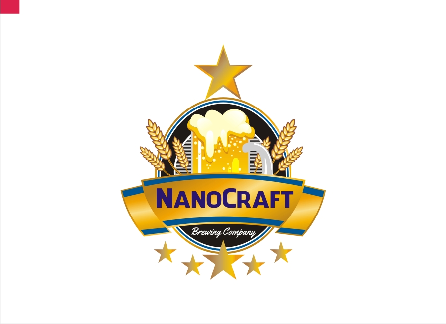 Logo Design by Private User - Entry No. 49 in the Logo Design Contest Unique Logo Design Wanted for NanoCraft Brewing Company.
