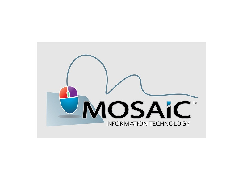 Logo Design by kowreck - Entry No. 37 in the Logo Design Contest Mosaic Information Technology Logo Design.