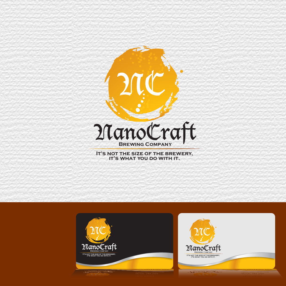 Logo Design by storm - Entry No. 60 in the Logo Design Contest Unique Logo Design Wanted for NanoCraft Brewing Company.