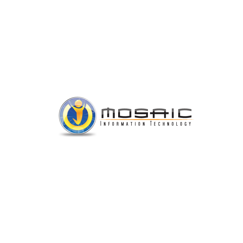 Logo Design by storm - Entry No. 42 in the Logo Design Contest Mosaic Information Technology Logo Design.