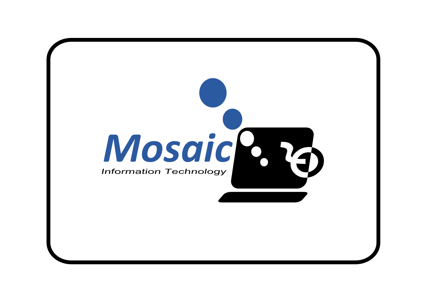 Logo Design by whoosef - Entry No. 68 in the Logo Design Contest Mosaic Information Technology Logo Design.