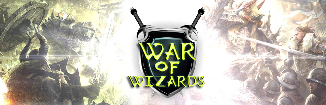 Banner Ad Design by Private User - Entry No. 2 in the Banner Ad Design Contest Banner Ad Design - War of Wizards (fantasy game).