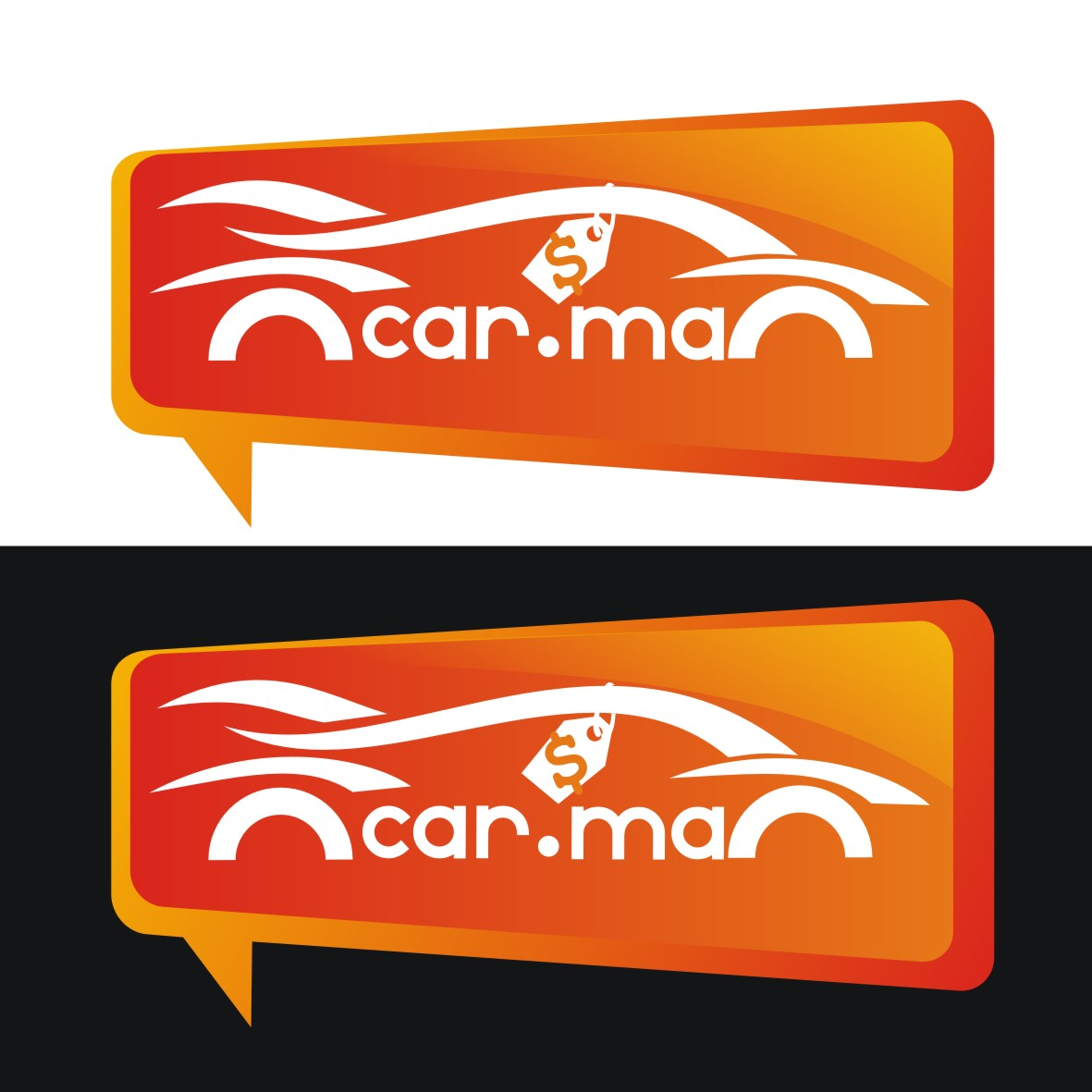 Logo Design by arteo_design - Entry No. 201 in the Logo Design Contest New Logo Design for car.ma.