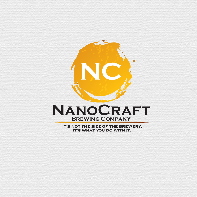 Logo Design by storm - Entry No. 26 in the Logo Design Contest Unique Logo Design Wanted for NanoCraft Brewing Company.
