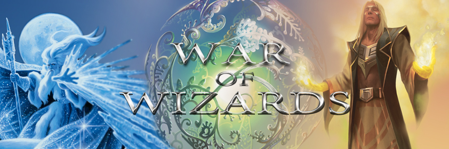 Banner Ad Design by kowreck - Entry No. 78 in the Banner Ad Design Contest Banner Ad Design - War of Wizards (fantasy game).