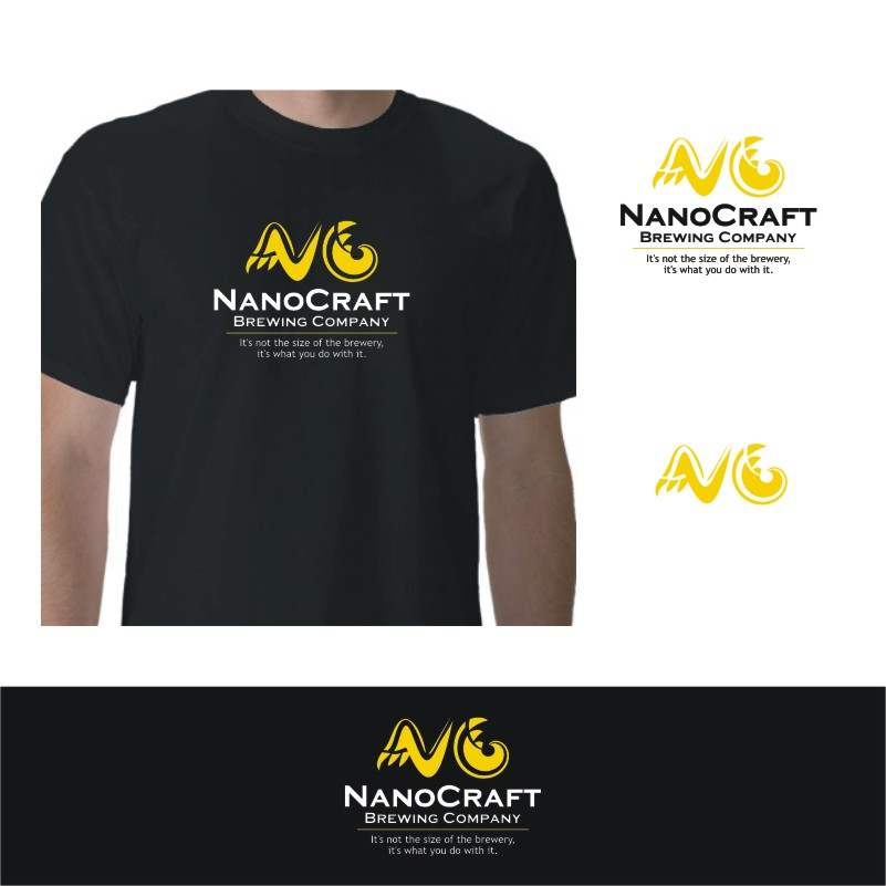 Logo Design by Private User - Entry No. 66 in the Logo Design Contest Unique Logo Design Wanted for NanoCraft Brewing Company.