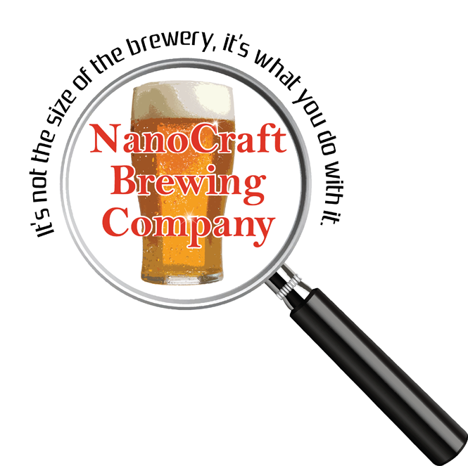 Logo Design by Lefky - Entry No. 23 in the Logo Design Contest Unique Logo Design Wanted for NanoCraft Brewing Company.