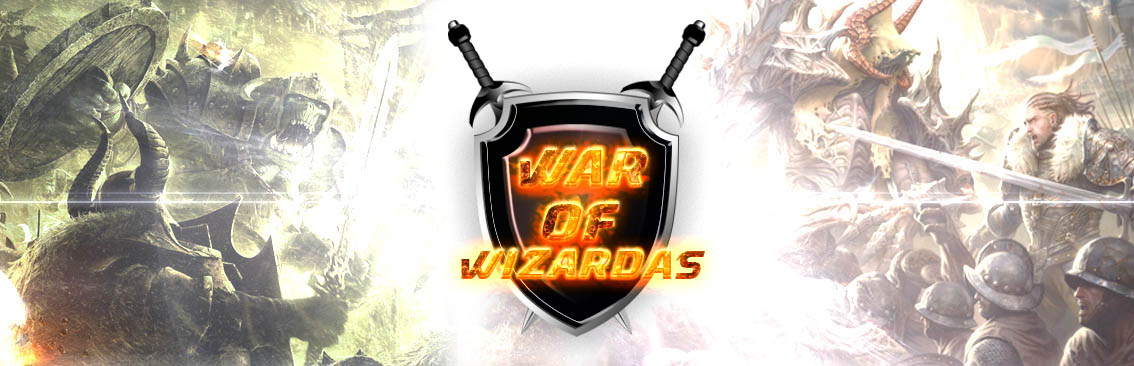 Banner Ad Design by Private User - Entry No. 5 in the Banner Ad Design Contest Banner Ad Design - War of Wizards (fantasy game).
