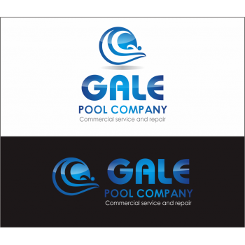 Logo design contests imaginative logo design for gale for Pool design logo