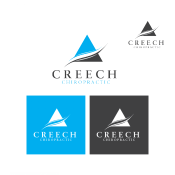 logo design contests imaginative logo design for creech rh hiretheworld com chiropractic logos for sale chiropractic logos for sale