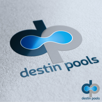 Logo design contests fun logo design for destin pools design no 81 by ized hiretheworld - Swimming pool logo design ...