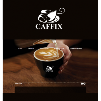 New logo by brands_in for Caffix