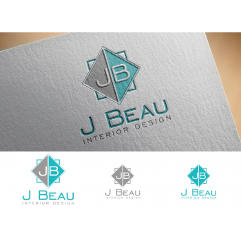 Logo Design Contests Fun Logo Design for J Beau Interior Design