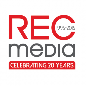 New logo by cre8ivedepot for RECMedia