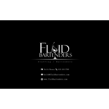 Bartenders Business Cards