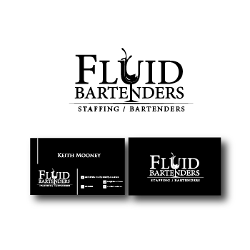 more entries from this contest - Bartender Business Cards