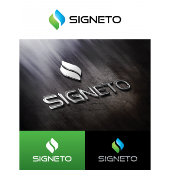 New logo by shahabuddin for Signeto