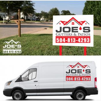 5f333971f7 Logo Design Contests » Imaginative Logo Design for Joes Gutters ...