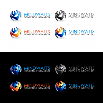 New logo by zesthar for mindwatts